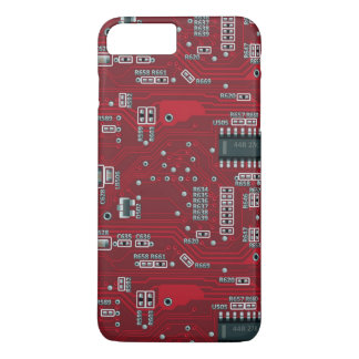 Abstract motherboard iPhone 7 plus case