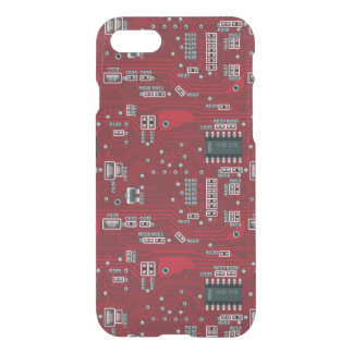 Abstract motherboard iPhone 8/7 case