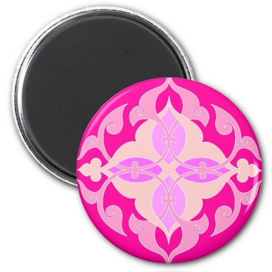 Abstract Motif : Textile Print Magnet