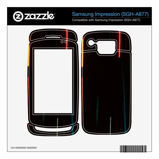 Abstract Motion Lights Samsung Impression Skins