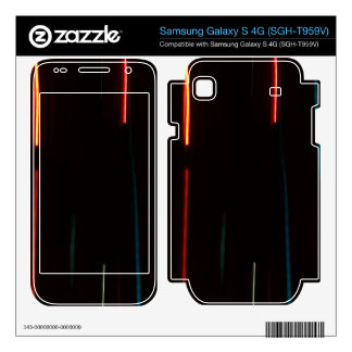 Abstract Motion Lights Samsung Galaxy S 4G Decal