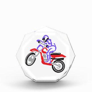 Abstract MotorCycle Acrylic Award