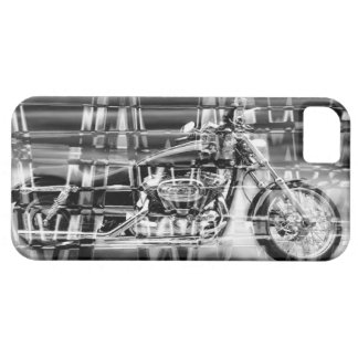 Abstract Motorcycle iPhone 5 Case