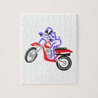 Abstract MotorCycle Jigsaw Puzzle