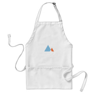 Abstract Mountains Adult Apron