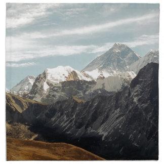 Abstract mountains Himalaya nature Napkin