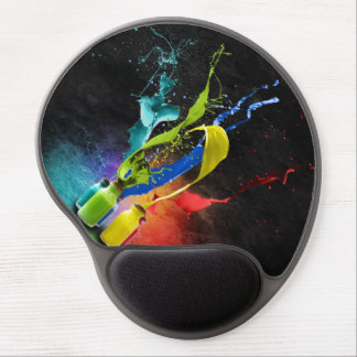 Abstract Mouse Mat Gel Mouse Pad