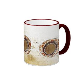 abstract mug. ringer mug