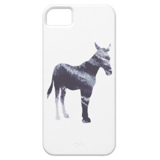 Abstract Mule silhouette iPhone SE/5/5s Case