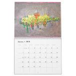 Abstract Multi Art Designer Calendar