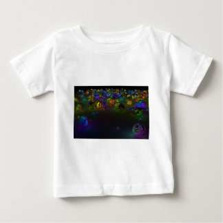 Abstract Multi Color Circles Baby T-Shirt