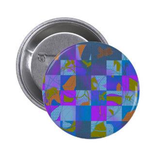 Abstract Multi-Color Design Button