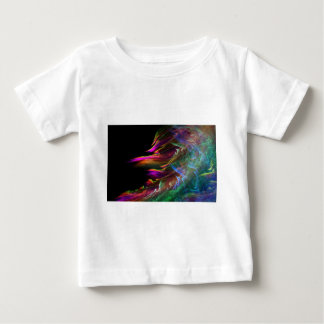 Abstract Multi Color Waves in Motion Baby T-Shirt