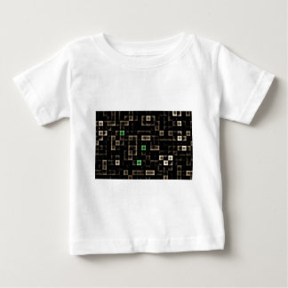 Abstract Multi Colored Square Baby T-Shirt