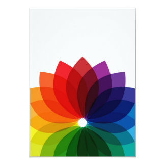 Abstract Multicolor Background Card