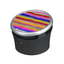Abstract Multicolor Watercolor Pattern Speaker