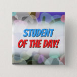 [ Thumbnail: Abstract Multicolored Blotch Pattern Button ]