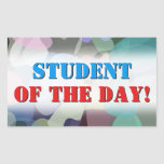 [ Thumbnail: Abstract Multicolored Blotch Pattern Sticker ]