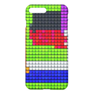 Abstract multicolored fabric pattern iPhone 8 plus/7 plus case