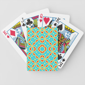 Abstract Multicolored pattern Bicycle Playing Cards