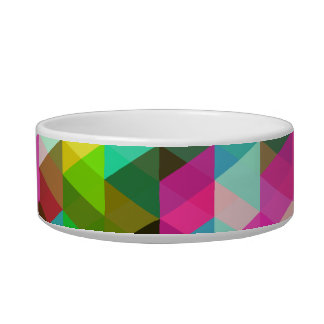 Abstract Multicolored Pattern Bowl