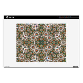 """Abstract Multicolored Pattern Decals For 12"""" Laptops"""
