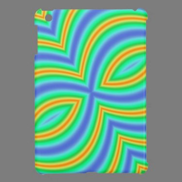 Abstract Multicolored Pattern Cover For The iPad Mini