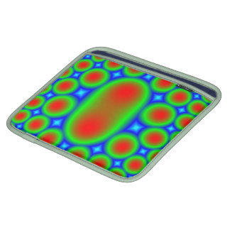 Abstract Multicolored Pattern Sleeve For iPads