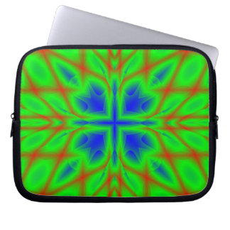 Abstract Multicolored Pattern Laptop Sleeve