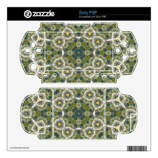 Abstract Multicolored Pattern PSP Skin
