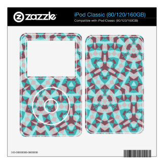 Abstract multicolored pattern iPod classic decal
