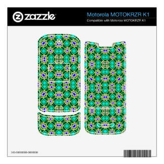 abstract multicolored pattern motorola MOTOKRZR k1 skin