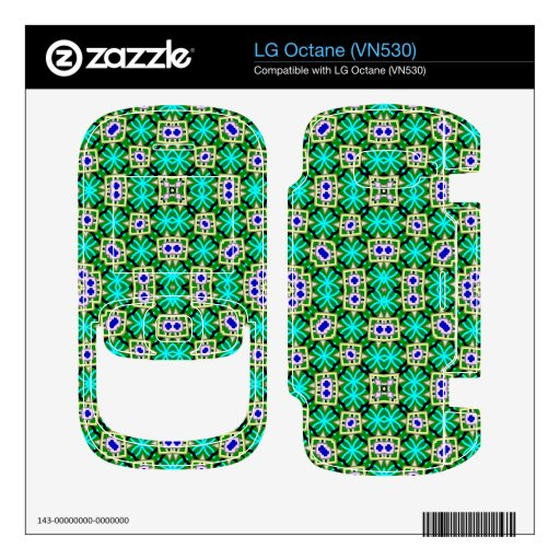 abstract multicolored pattern LG octane decals