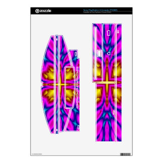 Abstract Multicolored Pattern PS3 Console Decal