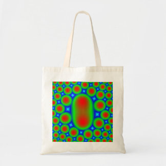 Abstract Multicolored Pattern Tote Bag