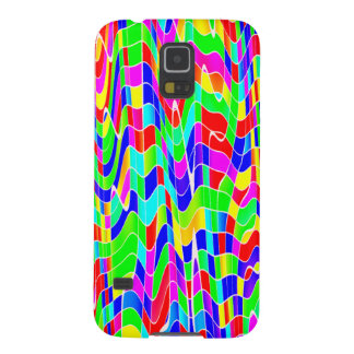 Abstract multicolour case for galaxy s5