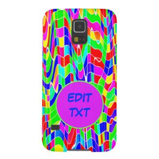 Abstract multicolour galaxy s5 case