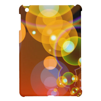 Abstract Multicolour Len Flare Cover For The iPad Mini