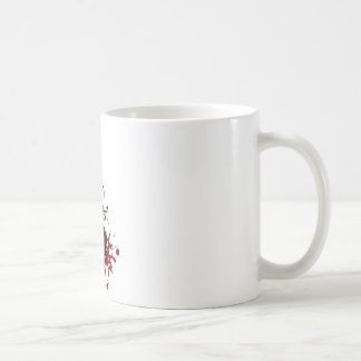 Abstract music background coffee mug