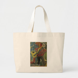 abstract music bag
