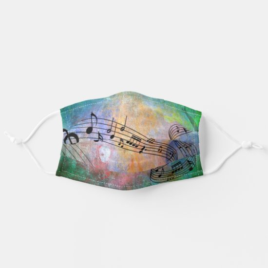 abstract Music Cloth Face Mask