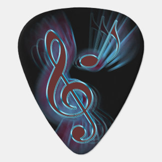 Abstract music. guitar pick