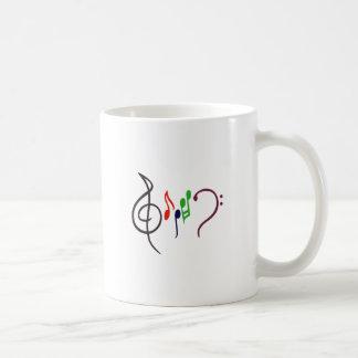 Abstract Music Logo Coffee Mug