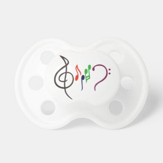 Abstract Music Logo Pacifier