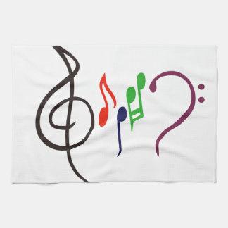 Abstract Music Logo Towel