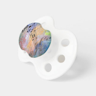 abstract music pacifier