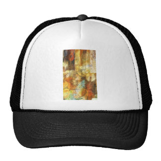 Abstract Music Shop Window Two Mesh Hat