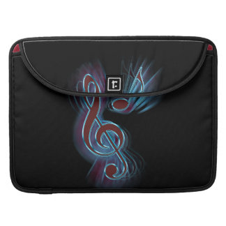 Abstract music. sleeve for MacBook pro