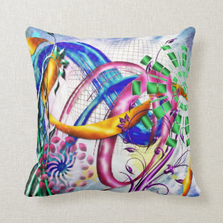 Abstract Musings: Daylight - throw pillow