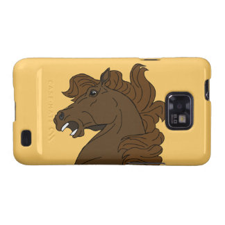 Abstract Mustang Horse Head Samsung Galaxy S Case Galaxy SII Cover